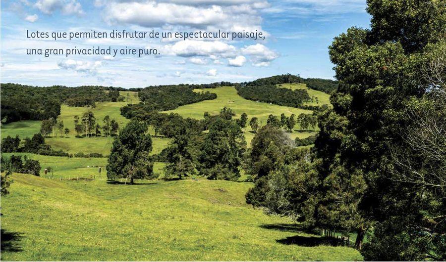 Lotes Espectacular paisaje aire puro