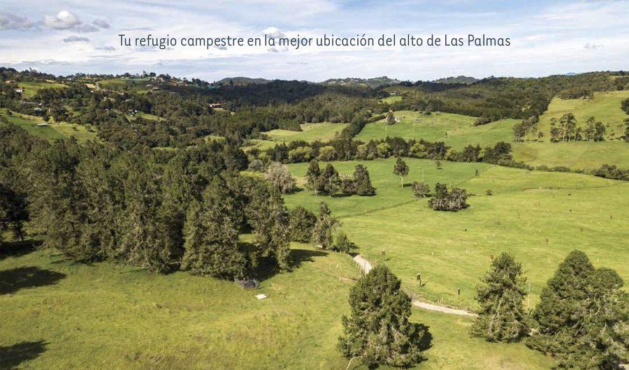 Refugio campestre en la mejor ubicación del alto de las Palmas