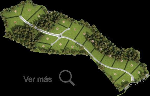 Mapa transparente Altos de Bracamonte